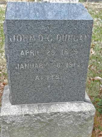 DUNCAN, JOHN DARIUS CHRISTOPHER - Baltimore County, Maryland | JOHN DARIUS CHRISTOPHER DUNCAN - Maryland Gravestone Photos