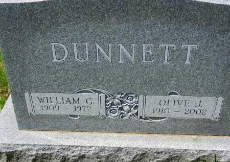 DUNNETT, WILLIAM G. - Baltimore County, Maryland | WILLIAM G. DUNNETT - Maryland Gravestone Photos
