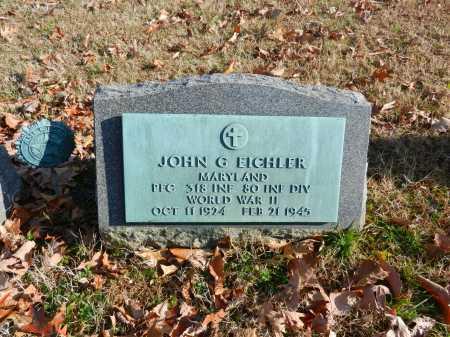 EICHLER, JOHN G - Baltimore County, Maryland | JOHN G EICHLER - Maryland Gravestone Photos