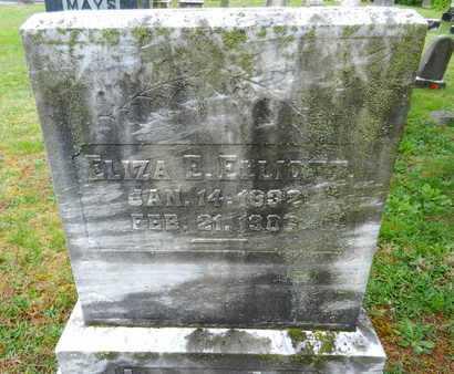 ELLIOTT, ELIZA E. - Baltimore County, Maryland | ELIZA E. ELLIOTT - Maryland Gravestone Photos