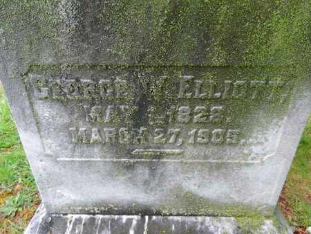 ELLIOTT, GEORGE W. - Baltimore County, Maryland | GEORGE W. ELLIOTT - Maryland Gravestone Photos