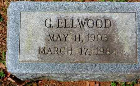 ELLWOOD, G. - Baltimore County, Maryland | G. ELLWOOD - Maryland Gravestone Photos