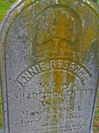 ENSOR, ANNIE REBECCA - Baltimore County, Maryland | ANNIE REBECCA ENSOR - Maryland Gravestone Photos