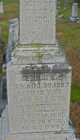 ENSOR, GEORGE S. - Baltimore County, Maryland | GEORGE S. ENSOR - Maryland Gravestone Photos