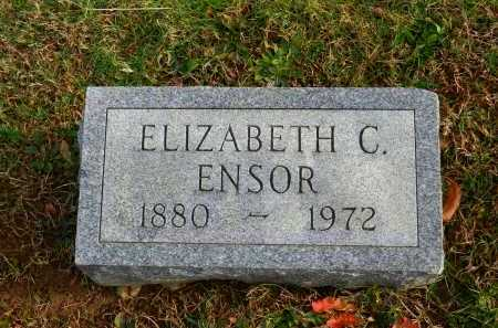 ENSOR, ELIZABETH C. - Baltimore County, Maryland | ELIZABETH C. ENSOR - Maryland Gravestone Photos