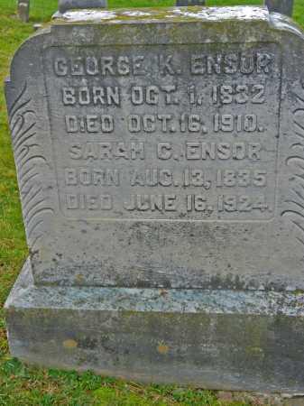 ENSOR, SARAH C. - Baltimore County, Maryland | SARAH C. ENSOR - Maryland Gravestone Photos