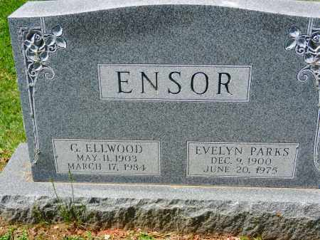 PARKS ENSOR, EVELYN - Baltimore County, Maryland | EVELYN PARKS ENSOR - Maryland Gravestone Photos