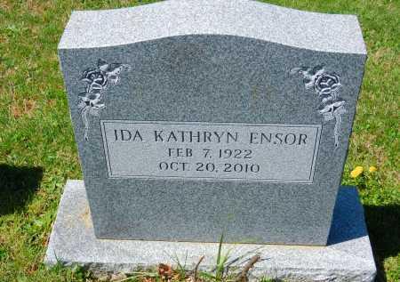 ENSOR, IDA KATHRYN - Baltimore County, Maryland | IDA KATHRYN ENSOR - Maryland Gravestone Photos