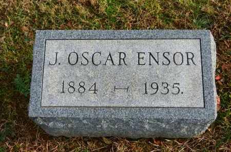 ENSOR, J. OSCAR - Baltimore County, Maryland | J. OSCAR ENSOR - Maryland Gravestone Photos