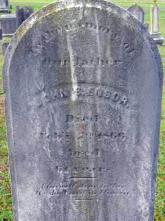 ENSOR, JOHN C. - Baltimore County, Maryland | JOHN C. ENSOR - Maryland Gravestone Photos