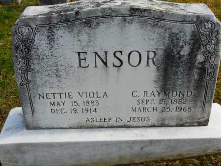 ENSOR, C. RAYMOND - Baltimore County, Maryland | C. RAYMOND ENSOR - Maryland Gravestone Photos