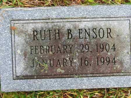 ENSOR, RUTH B. - Baltimore County, Maryland | RUTH B. ENSOR - Maryland Gravestone Photos