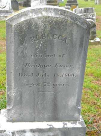 ENSOR, REBECCA - Baltimore County, Maryland | REBECCA ENSOR - Maryland Gravestone Photos