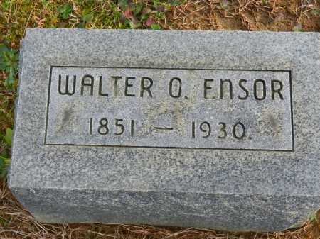 ENSOR, WALTER O. - Baltimore County, Maryland   WALTER O. ENSOR - Maryland Gravestone Photos
