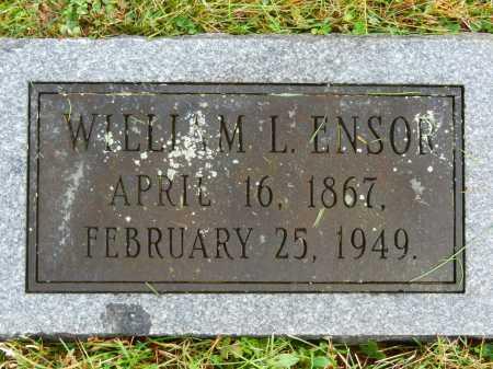 ENSOR, WILLIAM L. - Baltimore County, Maryland   WILLIAM L. ENSOR - Maryland Gravestone Photos