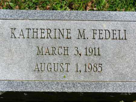 FEDELI, KATHERINE M. - Baltimore County, Maryland | KATHERINE M. FEDELI - Maryland Gravestone Photos