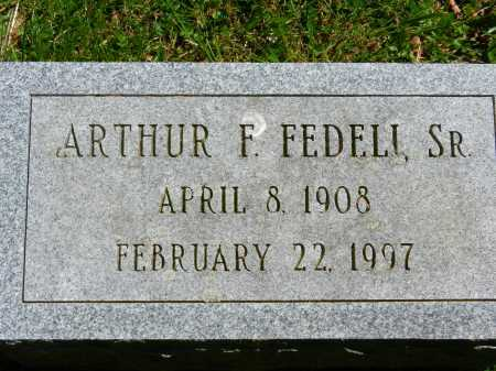 FEDELI, SR., ARTHUR F. - Baltimore County, Maryland | ARTHUR F. FEDELI, SR. - Maryland Gravestone Photos