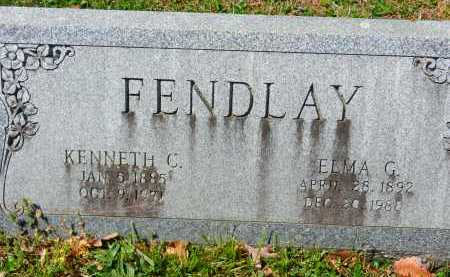 FENDLAY, ELMA G. - Baltimore County, Maryland | ELMA G. FENDLAY - Maryland Gravestone Photos