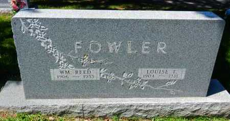 FOWLER, LOUISE T. - Baltimore County, Maryland | LOUISE T. FOWLER - Maryland Gravestone Photos