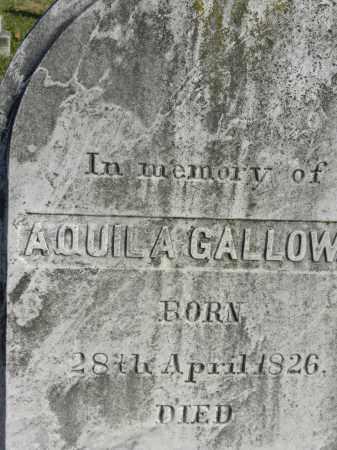 GALLOWAY, AQUILA - Baltimore County, Maryland | AQUILA GALLOWAY - Maryland Gravestone Photos