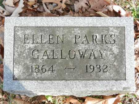 GALLOWAY, ELLEN PARKS - Baltimore County, Maryland   ELLEN PARKS GALLOWAY - Maryland Gravestone Photos
