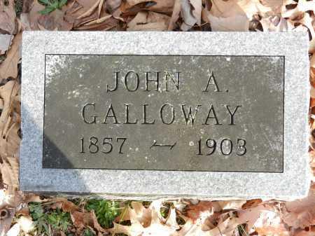 GALLOWAY, JOHN A - Baltimore County, Maryland | JOHN A GALLOWAY - Maryland Gravestone Photos