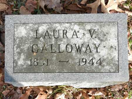 GALLOWAY, LAURA V - Baltimore County, Maryland | LAURA V GALLOWAY - Maryland Gravestone Photos
