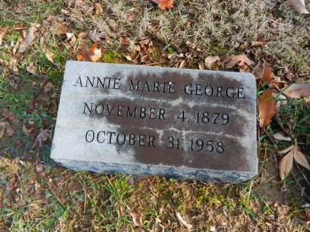 GEORGE, ANNIE MARIE - Baltimore County, Maryland | ANNIE MARIE GEORGE - Maryland Gravestone Photos