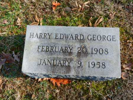 GEORGE, HARRY EDWARD - Baltimore County, Maryland | HARRY EDWARD GEORGE - Maryland Gravestone Photos