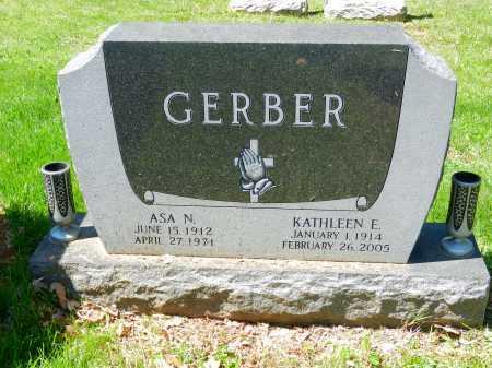 GERBER, ASA N. - Baltimore County, Maryland | ASA N. GERBER - Maryland Gravestone Photos