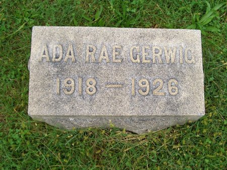 GERWIG, ADA RAE - Baltimore County, Maryland | ADA RAE GERWIG - Maryland Gravestone Photos
