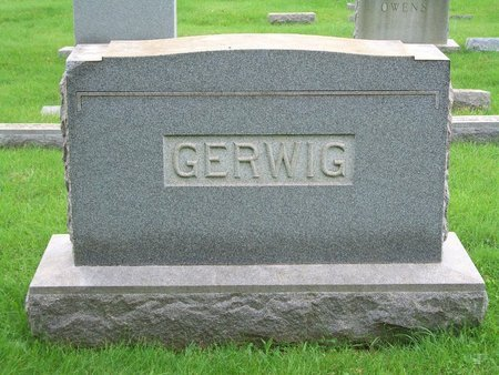 GERWIG, LUTHER E - Baltimore County, Maryland   LUTHER E GERWIG - Maryland Gravestone Photos