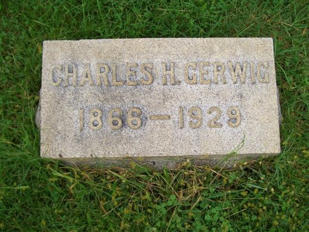 GERWIG, CHARLES H - Baltimore County, Maryland | CHARLES H GERWIG - Maryland Gravestone Photos