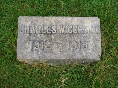 GERWIG, CHARLES W - Baltimore County, Maryland | CHARLES W GERWIG - Maryland Gravestone Photos