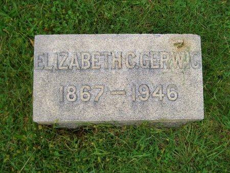 GERWIG, ELIZABETH C - Baltimore County, Maryland   ELIZABETH C GERWIG - Maryland Gravestone Photos