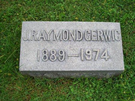 GERWIG, J RAYMOND - Baltimore County, Maryland | J RAYMOND GERWIG - Maryland Gravestone Photos