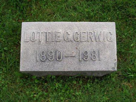 GERWIG, LOTTIE C - Baltimore County, Maryland | LOTTIE C GERWIG - Maryland Gravestone Photos
