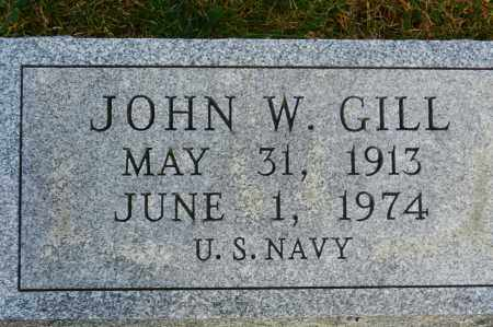 GILL, JOHN W. - Baltimore County, Maryland | JOHN W. GILL - Maryland Gravestone Photos