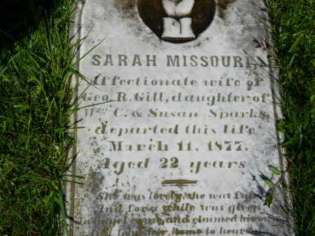 SPARKS GILL, SARAH MISSOURI - Baltimore County, Maryland | SARAH MISSOURI SPARKS GILL - Maryland Gravestone Photos