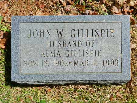 GILLISPIE, JOHN W. - Baltimore County, Maryland | JOHN W. GILLISPIE - Maryland Gravestone Photos