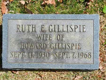 GILLISPIE, RUTH E. - Baltimore County, Maryland | RUTH E. GILLISPIE - Maryland Gravestone Photos
