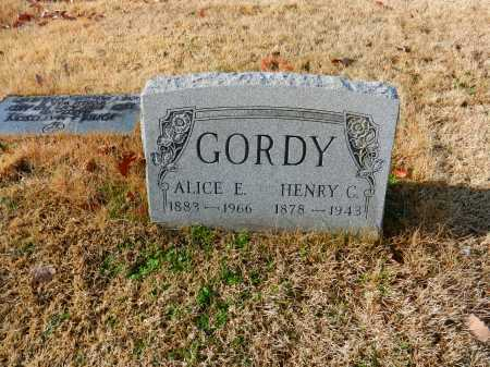 GORDY, ALICE E - Baltimore County, Maryland | ALICE E GORDY - Maryland Gravestone Photos