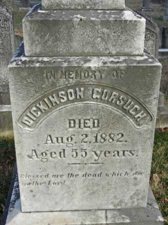 GORSUCH, DICKINSON - Baltimore County, Maryland | DICKINSON GORSUCH - Maryland Gravestone Photos
