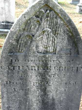 GRIFFIN, CATHARINE - Baltimore County, Maryland | CATHARINE GRIFFIN - Maryland Gravestone Photos