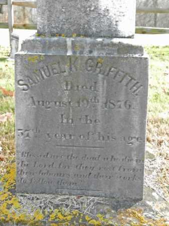 GRIFFITH, SAMUEL K - Baltimore County, Maryland | SAMUEL K GRIFFITH - Maryland Gravestone Photos