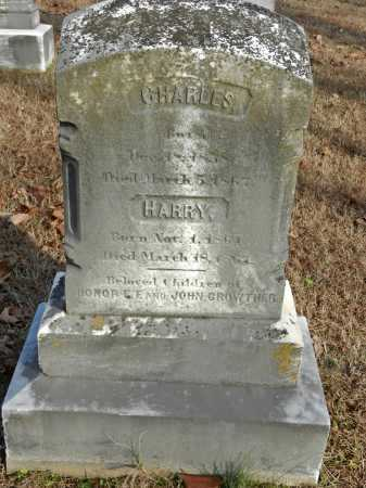 GROWTHER, CHARLES - Baltimore County, Maryland | CHARLES GROWTHER - Maryland Gravestone Photos