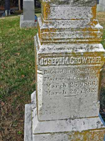 GROWTHER, JOSEPH M - Baltimore County, Maryland | JOSEPH M GROWTHER - Maryland Gravestone Photos