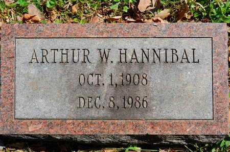 HANNIBAL, ARTHUR W. - Baltimore County, Maryland | ARTHUR W. HANNIBAL - Maryland Gravestone Photos