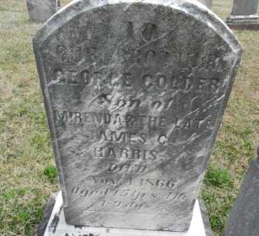 HARRIS, GEORGE COLDER - Baltimore County, Maryland | GEORGE COLDER HARRIS - Maryland Gravestone Photos