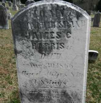 HARRIS, JAMES C. - Baltimore County, Maryland | JAMES C. HARRIS - Maryland Gravestone Photos